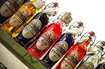 bouteilles-sirop-aromatisation-yaourt